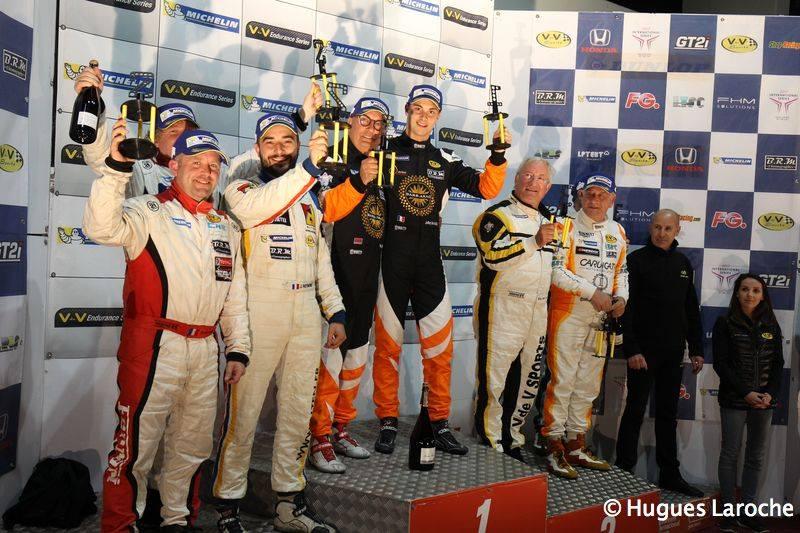Deux voitures, deux podiums ! – V de V Portimao 29.04.17