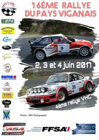 Au départ du Rallye Viganais !